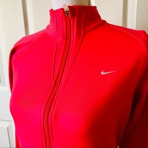 🌸 Nike Fit Pink Athletic Stretch Athletic Jacket